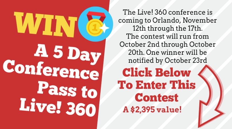 Win a 5 Day Conference Pass to Live! 360